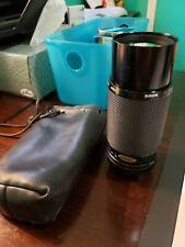 Kiron Kino Precision Macro 70-210mm F4.5 Lens w/leather bag