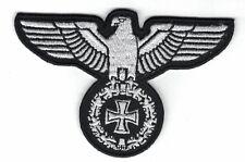 Reichsadler + Eiserne Kreuz Aufnäher / Patch (Deutsches Reich,Germany,Badge)