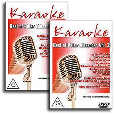 2 Karaoke DVD Set - Die größten Hits von Peter Alexander Vol.1+2 - Neuware