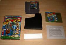Nintendo NES juego Game módulo-wall street Kid (puro de Wall Street $Treet) con funda