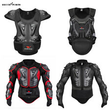 Armor Motorcycle Vest Spine Chest Protector Motocross Jacket MTB Racing Guards