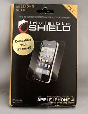 NEW Zagg Invisible Shield Apple iPhone 4/4S Full Body Dry Screen Protector