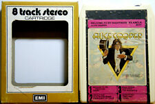 ALICE COOPER Welcome To My Nightmare  Aussie EMI Version   8 TRACK CARTRIDGE