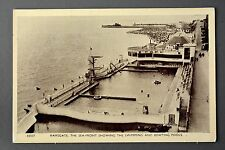 R&L Postcard: Ramsgate Swimming Baths and Boat pools, C Richter