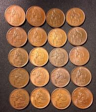 Vintage Norway Coin Lot - Ore - SQUIRREL SERIES - 20 Great Coins - Lot #N9