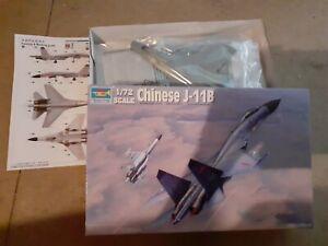 CHINESE J-11 B   1/72 TRUMPETER