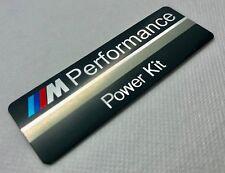 1 stck. BMW M Performance Power Kit Aluminium-Abzeichen. 90x30mm. 3M