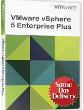VMware ESXi 5.1/5.5 vSphere Enterprise Plus + vCenter - Unlimited⭐Fast Delivery⭐