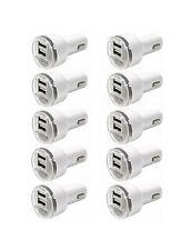 10x Dual Usb Car Charger 2.1 Amp High Speed Fast For Phone iPhone Samsung Htc Lg