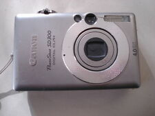 Very Nice Canon PowerShot SD300 Digital Camera IXUS 40