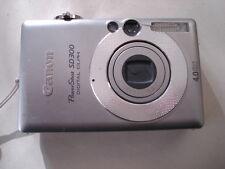 Very Nice Canon PowerShot SD300 Digital Camera IXUS 40