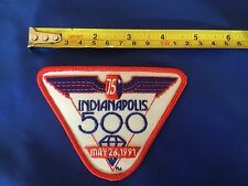 Indy 500 1991 VINTAGE Event Logo Patch NOS DODGE VIPER PACECAR Rick Mears Wins