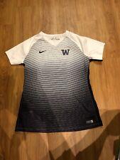 Nike University Of Washington Huskies Womens Soccer Football Shirt Large
