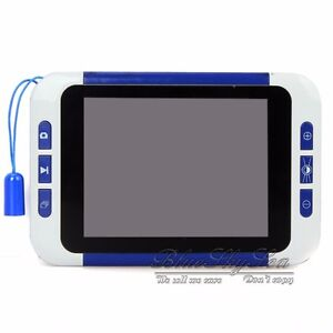 """3.5"""" Color LCD TV Video Electronic Reading Magnifier 2-32X Zoom Low Vision Aid"""