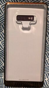 NEW VRS CRYSTAL BUMPER for GALAXY NOTE 9 CRYSTAL BUMPER HARD CASE- BUMPER BROWN