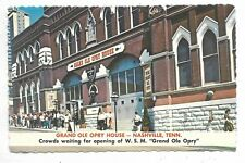 NASHVILLE, TN Grand Ole Opry House - continental size postcard