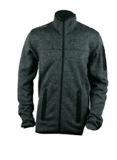Ccm Hockey Fleece Base Layer Full Zip Jacket-Grey Size Senior/Adult