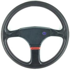 Genuine OEM Saab Momo leather steering wheel. 99 900 900 96 Turbo etc. Rare! 15B
