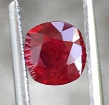 Certified 1.16 ct natural Pigeon Blood Red Ruby Unheated Untreated
