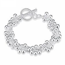 Women's Classy Design Silver Plated Bracelet Latest Fashion Jewelry High Quality