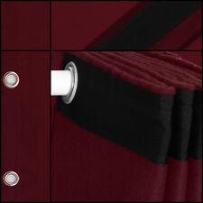 Bühnenvorhang-Backdrop-Geöst Molton-Stoff bordeaux 1,5mx3m Fotostudiohintergrund