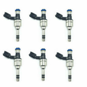 6 x ACDELCO FUEL INJECTORS FOR 2012-2018 BUICK-CADILLAC-CHEVROLET-GMC 3.6L