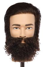 NEW Pivot Point Cosmetology School Student Human Hair Mannequin Head Ian