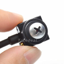 Mini HD600TVL CMOS Spy Hidden Nanny Camera CCTV Home Security Cam Pinhole Camera