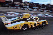 Derek Bell firmato, ALPINE-RENAULT A442 LE MANS 24hrs 1977