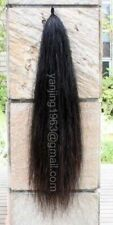 """Brand New Natural Black single Thickness Horse Tail Extension 28-30"""" 3/8Lb aB2H"""