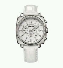 WA0084 Nuevo Genuino Thomas Sabo rebel@heart Reloj/CZ Correa De Piel Blanca £ 359