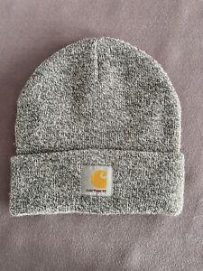 Carhartt Mütze grau/weiß Unisex