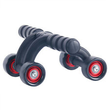 3/4-wheel Fitness AB Roller Workout System Abdominal ABS Gym Exerciser Fast AU 4 Wheel