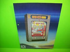 Hellomat Automaten 2030 Original Slot Machine Promo Sales Flyer German Text Rare