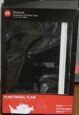 Motorola Protective Portfolio Case for Motorola Xoom - NEW - Black - BRAND NEW