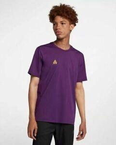 Nike ACG Top Men's Purple/ Bright Mandarin AQ3951 537 Size L