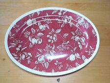Waverly Garden Room FRUIT TOILE 14 1/2 Oval Platter