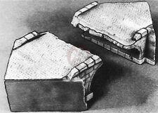 Verlinden 54mm 1/35 Demolished Bridge Sections WWII [Plaster Diorama] MDA 35201