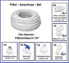 Filter Anschluss Kupplung SET Side-by-Side Kühlschrank Wasserfilter Osmoseanlage