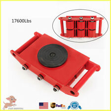 New listing Durable 8T Heavy Duty Machine Dolly Skate Roller Machinery Mover 360° Rotation