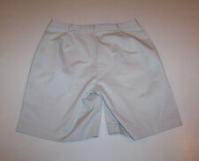 Women's Briggs New York Tan Khaki Cotton Shorts 10