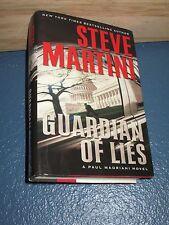 Guardian of Lies by Steve Martini HC/DJ 1st FREE SHIPPING 9780061230905