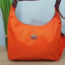 Longchamp Hobo Bag Wickeltasche crossbody Umhängetasche Tasche Farbe orange