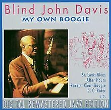 My Own Boogie von Blind John Davis | CD | Zustand sehr gut