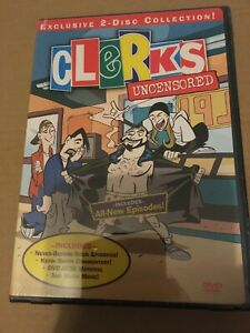 Clerks - 2000 animated TV show/Kevin Smith (New/sealed region 1 NTSC DVD boxset)