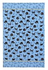 "Ulster Weavers, ""Cat Nap"", Pure cotton printed tea towel."
