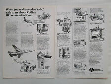 1980-81 PUB ROCKWELL COLLINS HF COMMUNICATION 718U HF-280 121 122 AN/ARC-190 AD