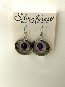 Silver Forest Handcrafted in the USA Earrings NEW (A13)