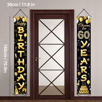 Geburtstagsfeier Couplet Türvorhang Banner ältere Partei Geburtstag Tür Couplet