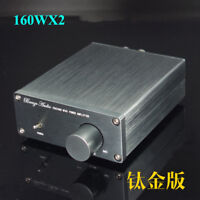Finished TDA7498E Mini Power Amplifier 160W+160W High-power Digital Power Amp